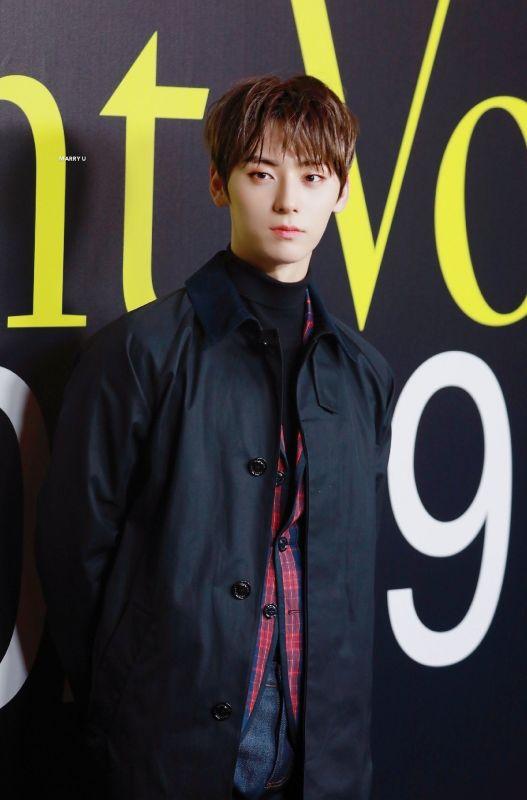 HwangMinhyunแฟชั่นวีค nuest kpop idol