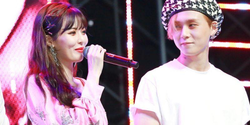 HyunA ความรัก แฟน E DawnCube Ent
