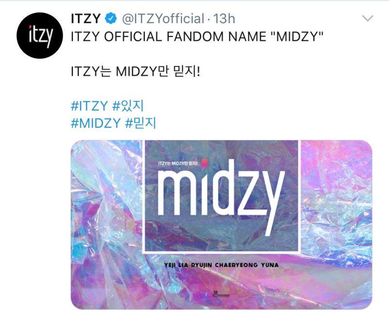 ITZY Official Fanclub DALLA MIDZY