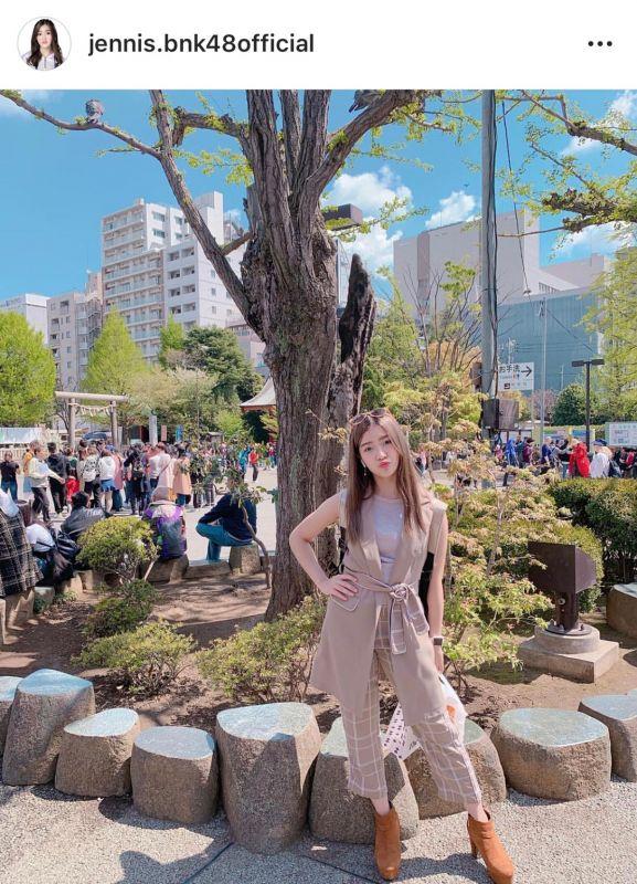 เจนนิส BNK48 ตะลุยญี่ปุ่น เที่ยวญี่ปุ่น