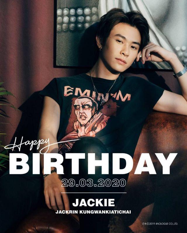 แจ็คกี้ วันเกิด แฟนคลับ #Happy19thJackieDay
