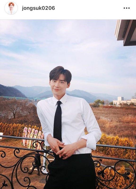 Lee Jong Suk อินสตาแกรม แฮค IG