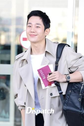 ไอดอล แฟชั่น สนามบิน Park Si Hoo Yunho Lee Tae Hwan
