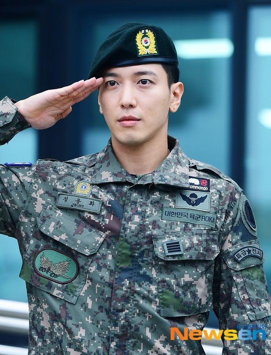 #welcomebackjyh Jung Yong Hwa คัมแบ็ค ปลดประจำการ