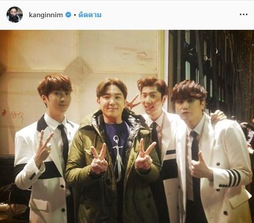 Kangin ประกาศลาออกจาก Super Junior E.L.F