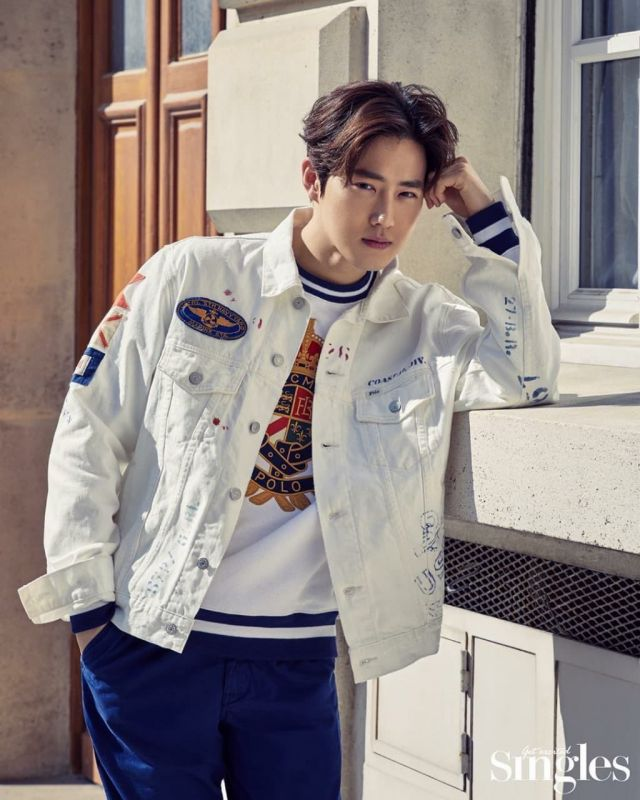 Suho EXO #KIMJUNCOTTONDAY #HappySuhoDay