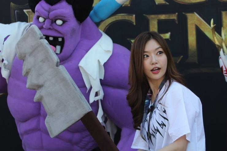 ไอดอล สาวกเกม  League of Legends ไอดอล บันเทิง ดารา เกาหลี