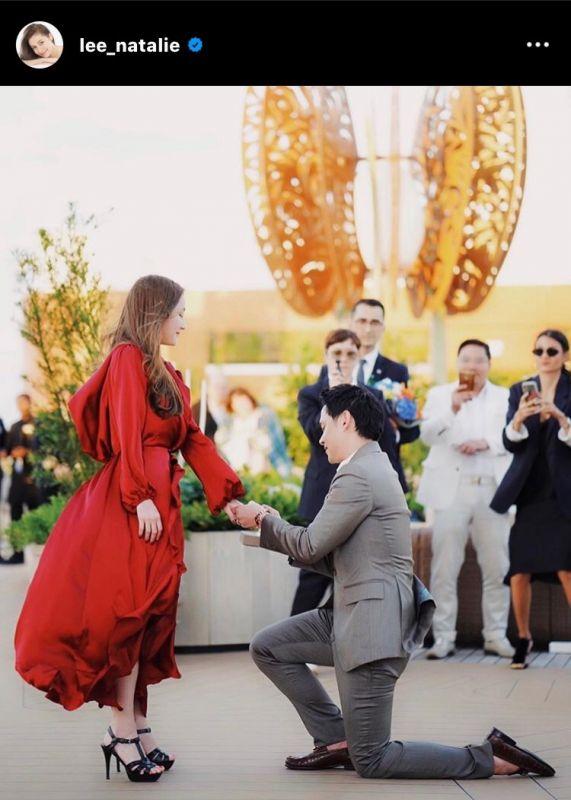 ลี นาตาลี ฟลุค เกริกพล แต่งงาน ความรัก