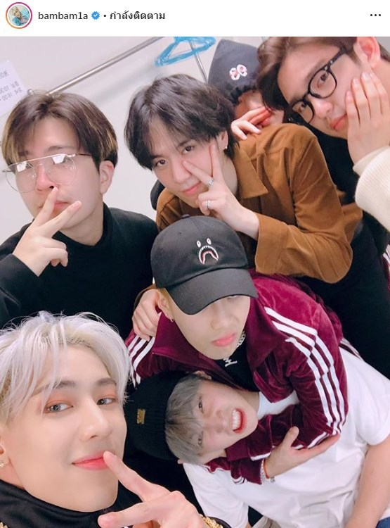 GOT7 LULLABY อากาเซ #Lullaby7thWin