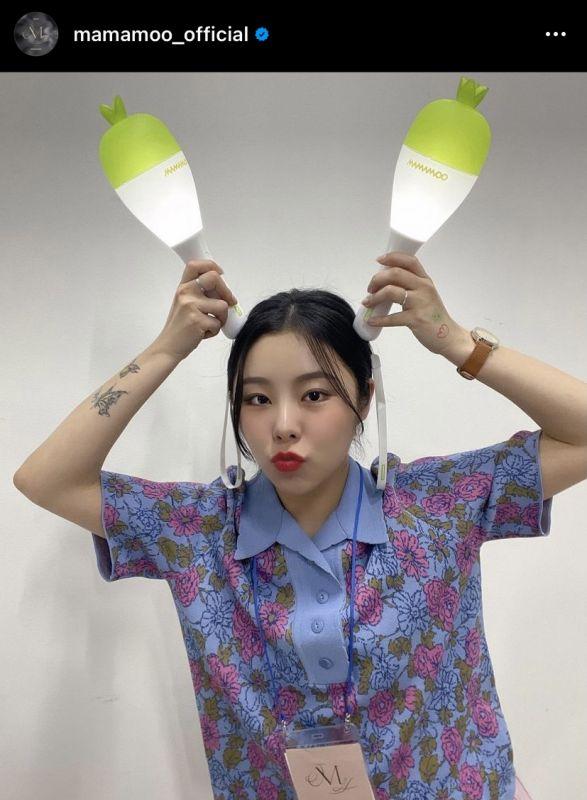 ฮวีอิน MAMAMOO RBW เกิร์ลกรุ๊ป ไอดอลเกาหลี