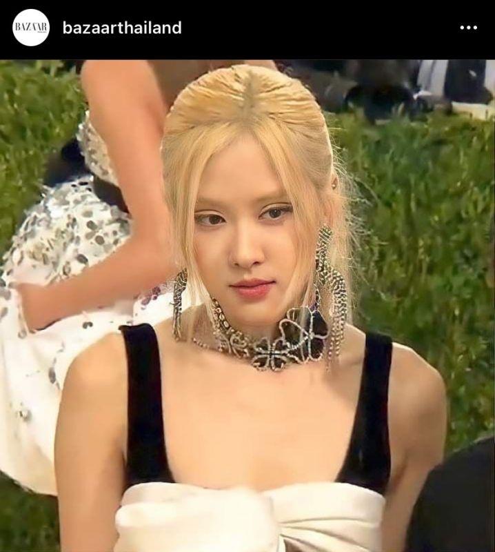 CL โรเซ่ BLACKPINK Met Gala