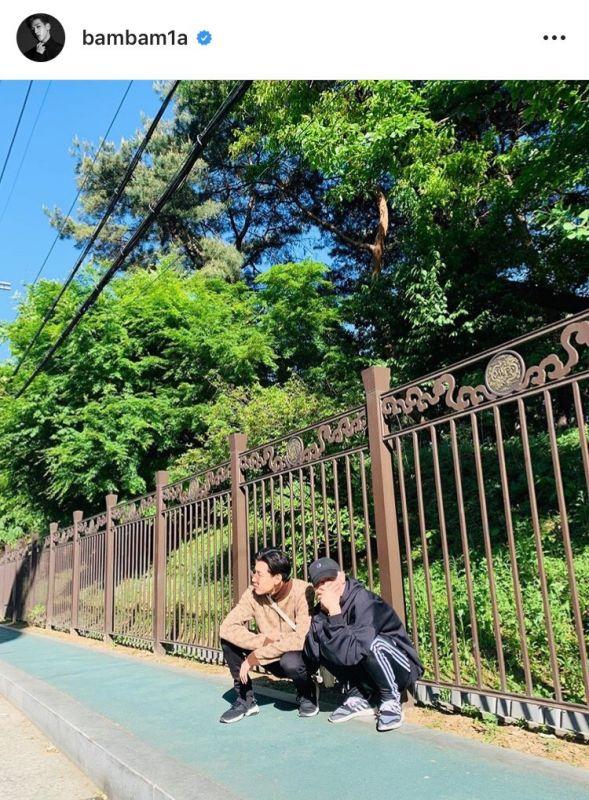 MarkBam คู่ชิป GOT7 ครบรอบ #Happy9thAnniversaryMTBB