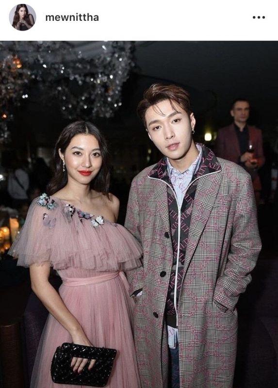 มิว นิษฐา Song Joong Ki EXO Zhang Yi Xing