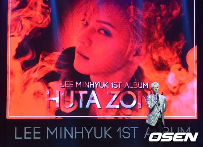 Minhyuk BTOB โซโล่ ลุคใหม่