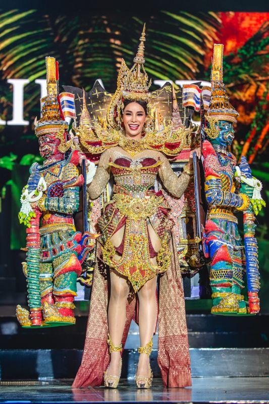 มิสแกรนด์อินเตอร์เนชั่นแนล 2019 โกโก้ ชุดประจำชาติไทย