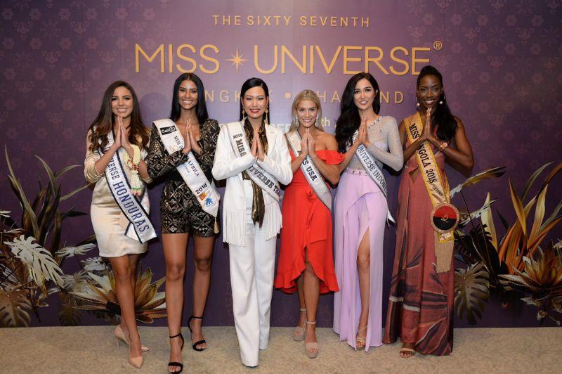 MISS UNIVERSE THAILAND มิสยูนิเวิร์สไทยแลนด์ นิ้ง โศภิดา Miss Universe 2018