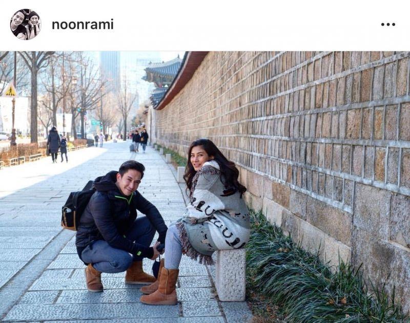 นุ่น หลุยส์ สวีท เกาหลี หวาน คู่รัก