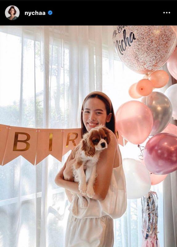 ณิชา วันเกิด โตโน่ ซื้อหมา เซอร์ไพรส์