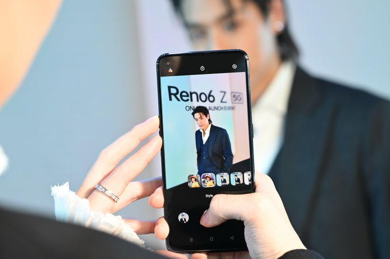 บิวกิ้น พุฒิพงศ์ พีพี กฤษฏ์ OPPO Reno6 Z 5G