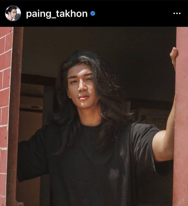 Paing Takhon หนุ่มพม่า นายแบบ