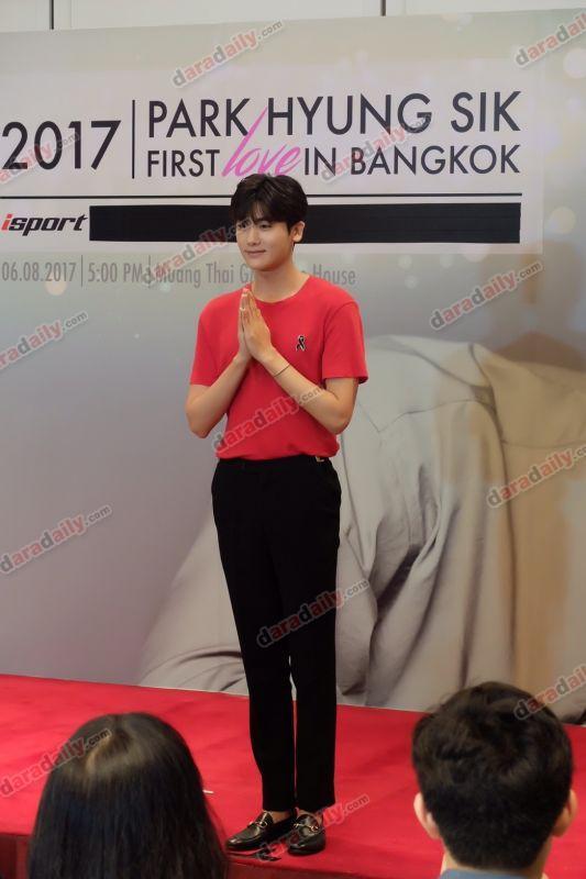 พัคฮยองชิก ParkHyungSikFirstLoveInBKK Park Hyung Sik แฟนมิตติ้ง