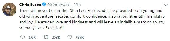 เหล่าฮีโร่ Marvel อาลัยStan Lee เสียชีวิต #RIPStanLee #StanLee #Marvel