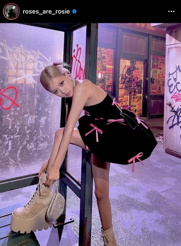 โรเซ่ BLACKPINK On the Ground Gone YG Entertainment