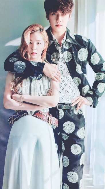 Irene วง Red Velvet และ Sehun วง EXO