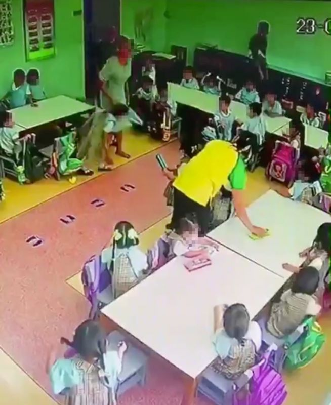 ครูทำร้ายเด็ก สารสาสน์ราชพฤกษ์