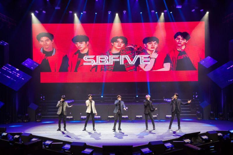 SBFIVE SB5 ดัง ทัวร์ คอนเสิร์ต