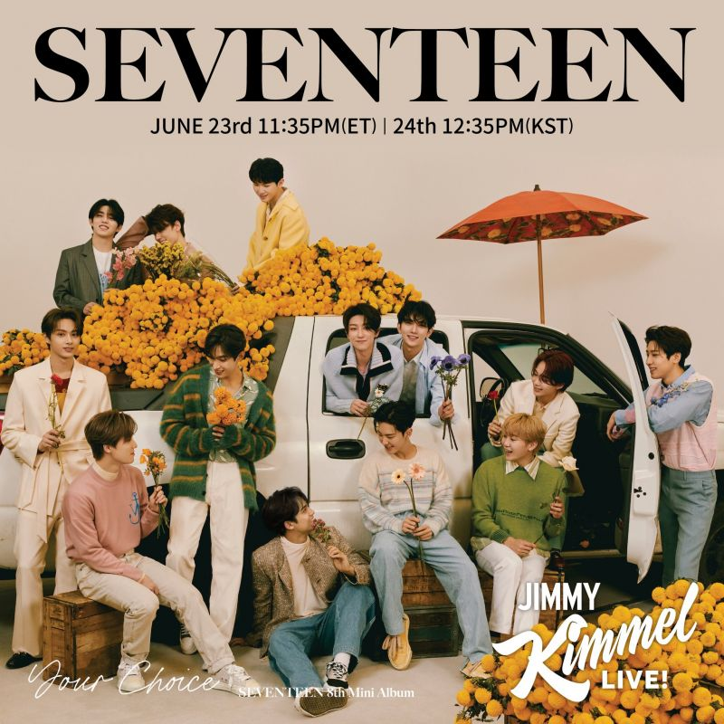 SEVENTEEN Your Chioce Pledis Entertainment ไอดอลเกาหลี KPOP