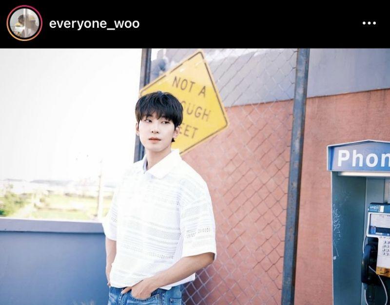 วอนอู Seventeen Instagram K-POP ไอดอลเกาหลี