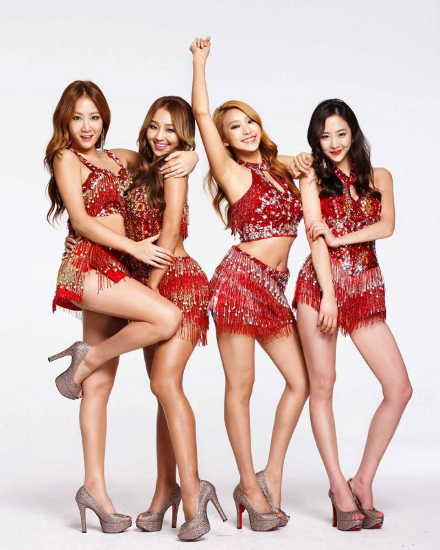 sistar k-pop ยุบ วง