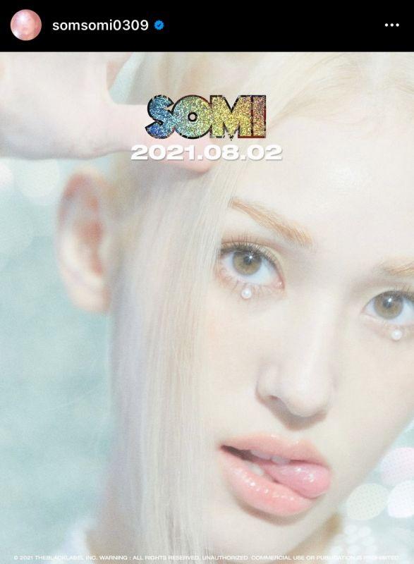 SOMI คัมแบ็ค K-POP ไอดอลเกาหลี DUMB DUMB