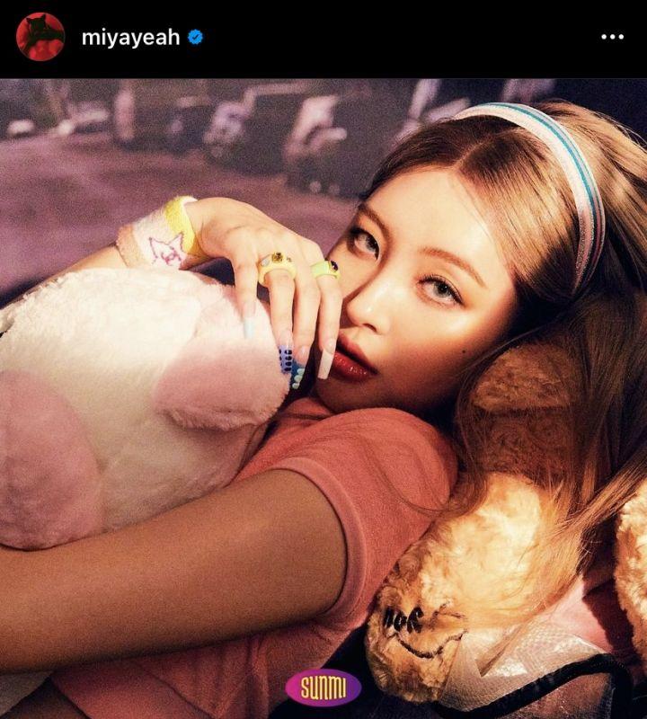 ซอนมี SUNMI ABYSS COMPANY COMEBACK K-POP ไอดอลเกาหลี