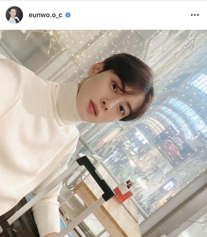 Cha Eun Woo ASTRO หล่อ ไอดอล kpop