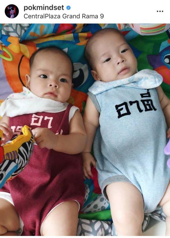 ป๊อก ภัสสรกรณ์ มาร์กี้ ราศรี พัฒนาการ ลูกแฝด