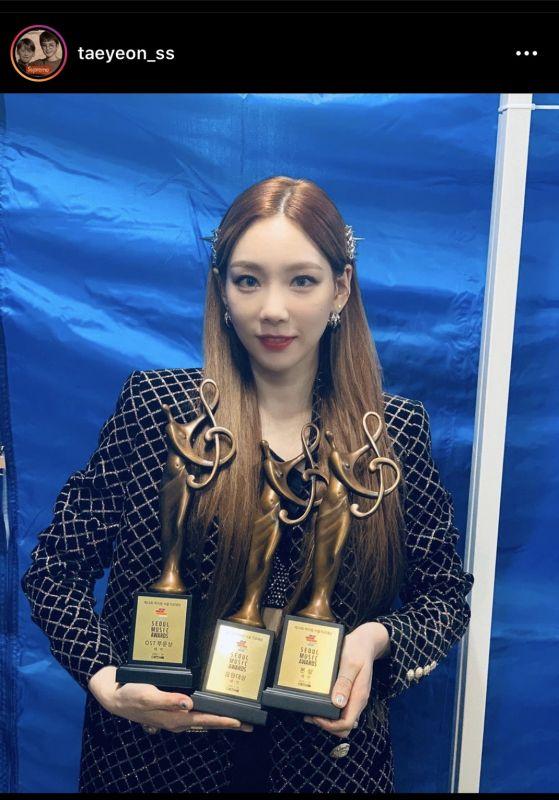 Taeyeon #Taeyeon1stDaesang #SMA2020 #SeoulMusicAwards2020