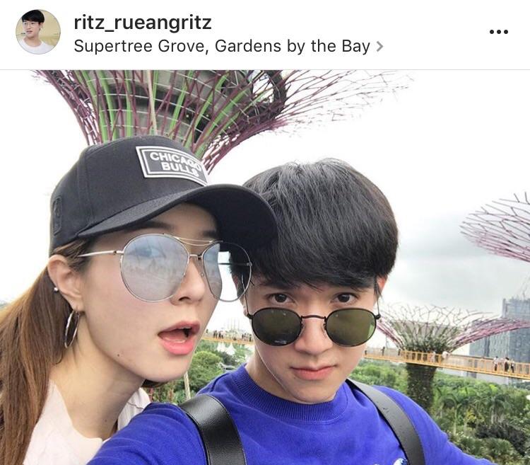 ภาพบรรยากาศ ริท จียอน เที่ยวสิงคโปร์ หนุ่มหล่อ ฉลองเค้าท์ดาวน์ เพื่อนร่วมค่าย