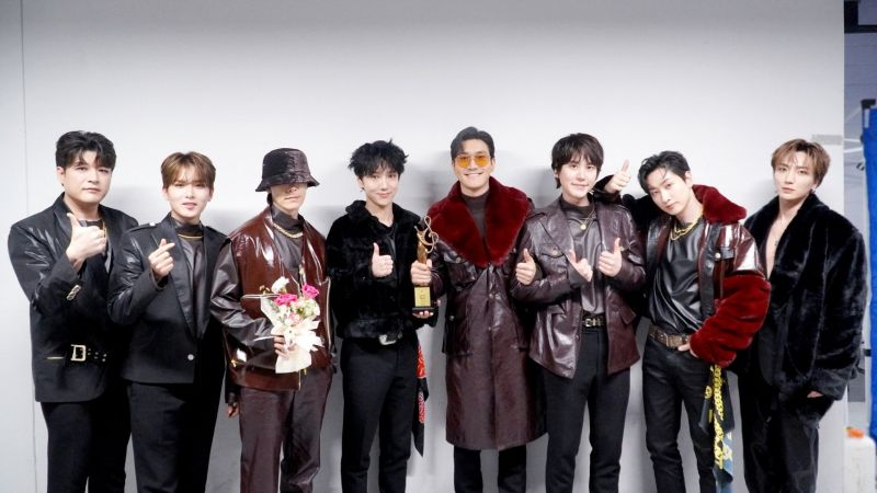 Super Junior รางวัล ประเทศเกาหลี ไอดอลเกาหลี