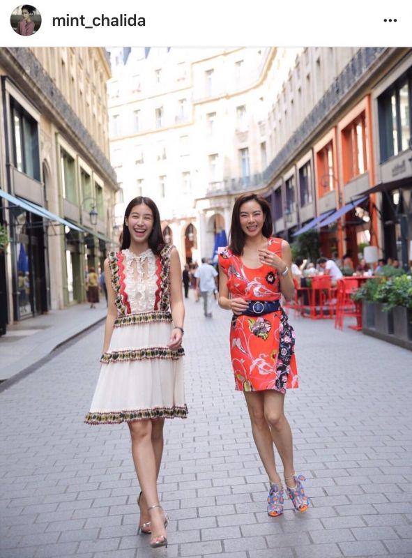 ดาราไทย ฮอต โกอินเตอร์ตบเท้า เข้าร่วมงาน ในระดับนานาชาติ