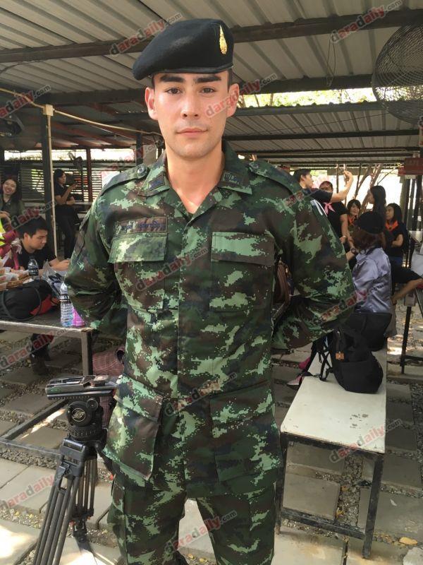 รั้วของชาติ หลุยส์ เตรียมสอบบรรจุ ปลดประจำการ นักแสดงหนุ่มสุด กรมทหาร