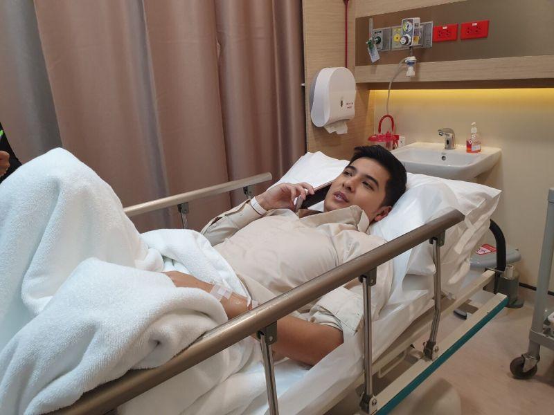 แคน อติรุจ แอดมิท โรงพยาบาล