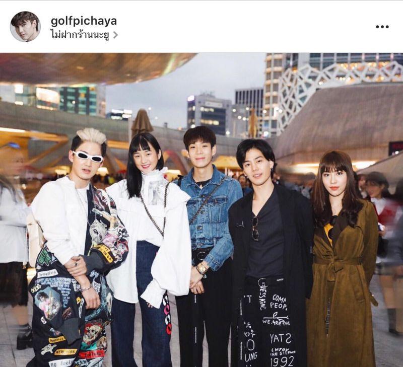 Seoul Fashion Week Hera แกงส้ม ธนทัต, กอล์ฟ พิชญะ, เจเจ กฤษณภูมิ, เพชร เผ่าเพชร