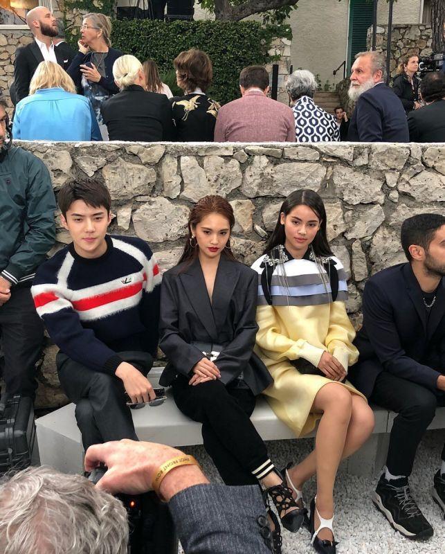 ญาญ่า อุรัสยา เซฮุน ร่วมงาน Louis Vuitton ประเทศฝรั่งเศส