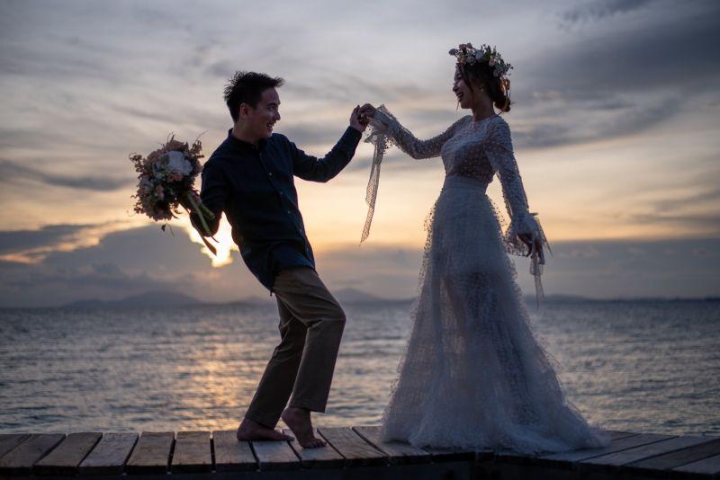 ดิม แทททูคัลเลอร์ แต่งงาน