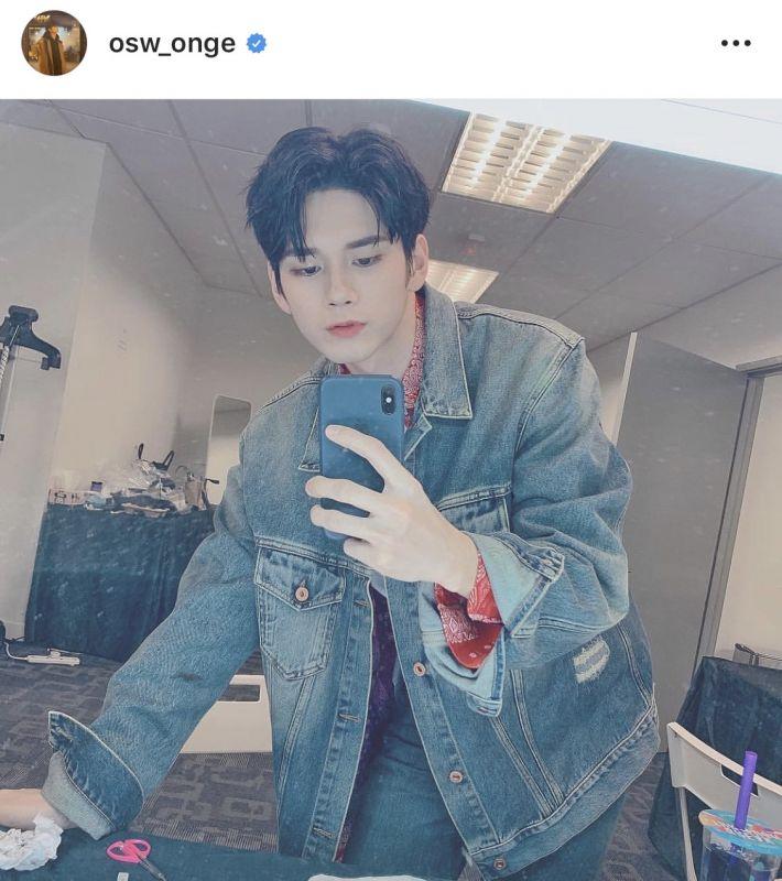 Ong Seongwu แฟนคลับ ชื่อ officialfanclub kpop