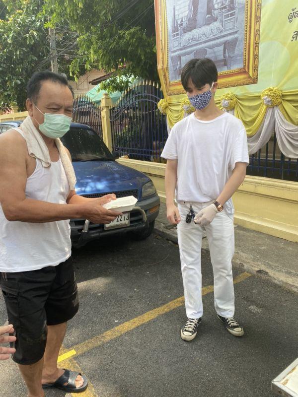 คนไทยไม่ทิ้งกัน บอส พีพี ยุ่น ปันน้ำใจ โควิด-19