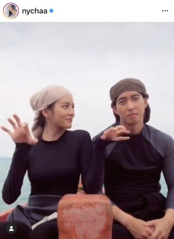 โตโน่ ภาคิน ณิชา เต้น ว่ายน้ำข้ามเกาะ