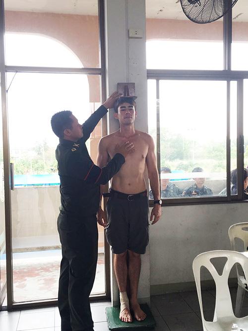 สังกัดทหารบก กองทัพบก บันเทิง ดารา นักแสดง สมัครทหาร พระเอกหนุ่ม